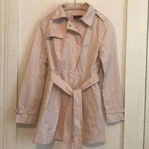 Express Pink Trenchcoat